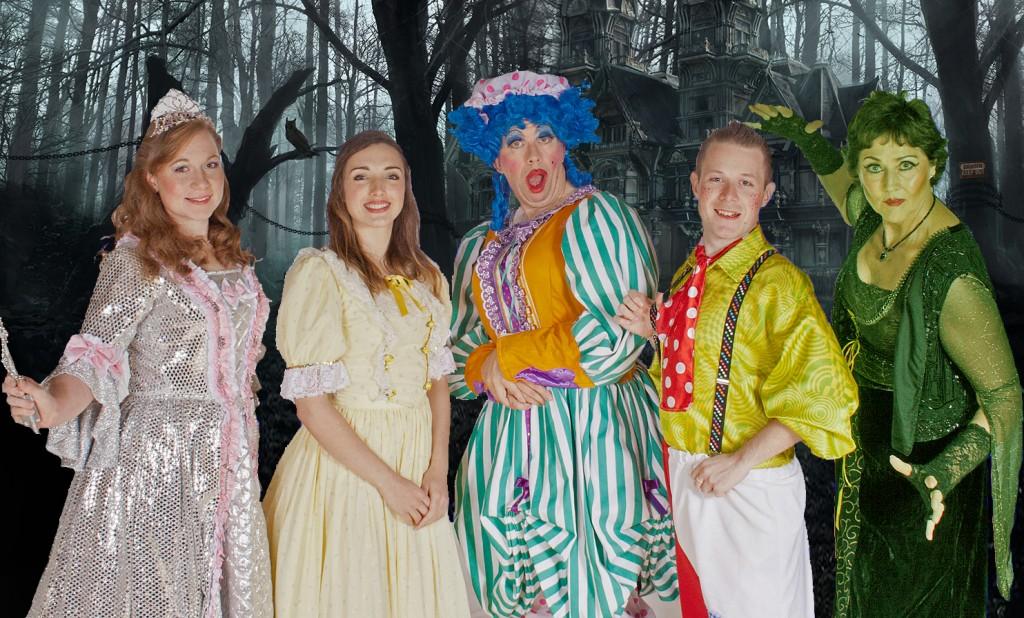 Group - Fairy, Belle, Fiffi, Jack, Evil Witch